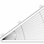 FD Slope 3 Plissee für Dreiecksfenster