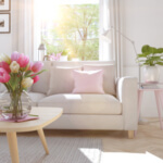 Plissee Wohnzimmer
