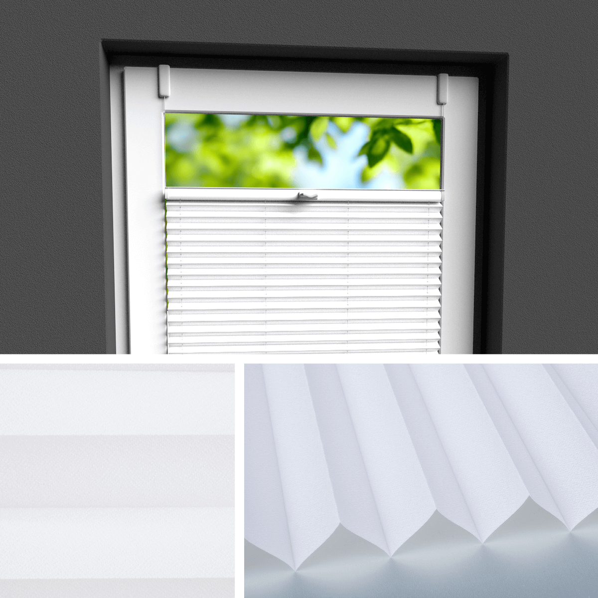 Beliebt PLISSEE ROLLO | bei Plissee.de | der perfekte Sichtschutz für Fenster OQ68