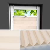 Fensterrollo beige
