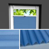 Fensterrollo blau
