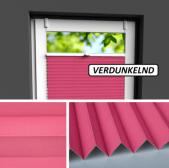 Fensterrollo rosa verdunkelnd