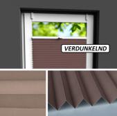 Fensterrollo braun verdunkelnd