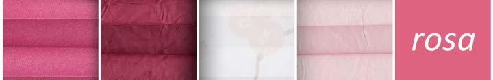 Plissee rosa