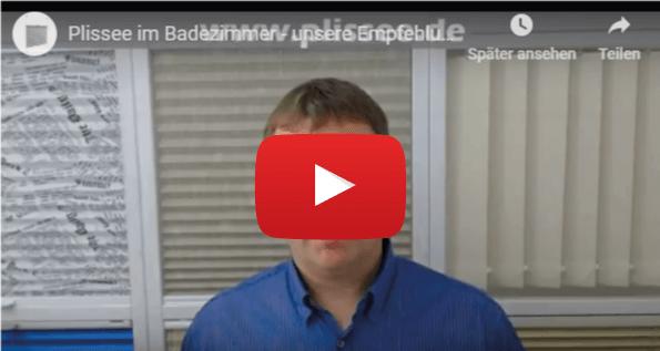 Video: Plissee im Badezimmer