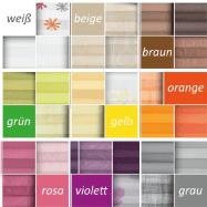 Plissee nach Farben