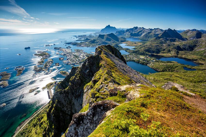 Skandinavische Landschaft